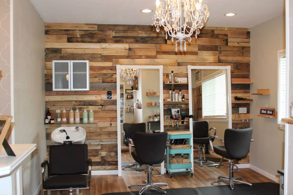 Wall Decor Ideas For Spa : New rustic chic downtown sonora salon